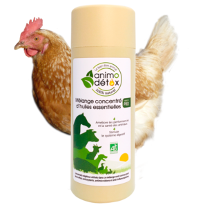 animodetox huile essentielle volaille poule