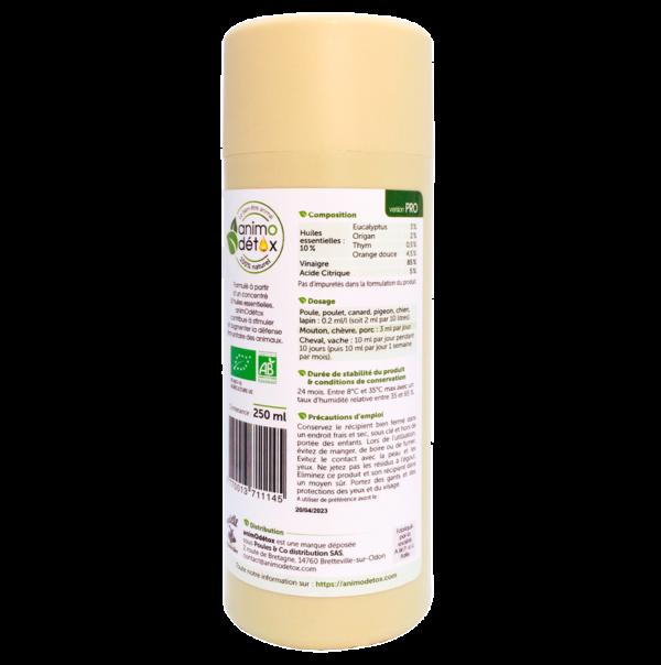 animodetox dosage huile essentielle